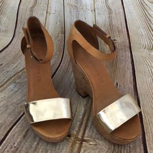 See by Chloe size 38 wedges
